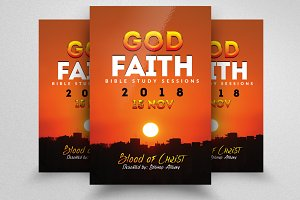 Faith Church Flyer Templates