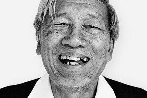 Thai man portrait (PSD)