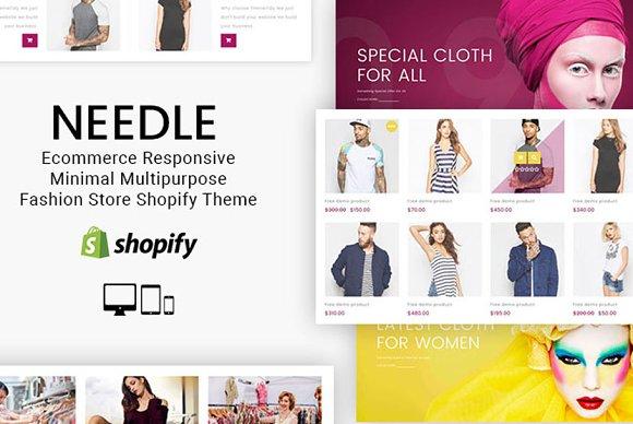 Needle Fashion Shop Shopify Theme