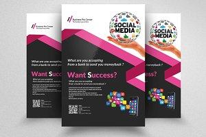 Social Media & App Flyer Templates