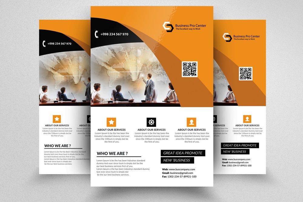 professional flyer templates flyer templates creative market