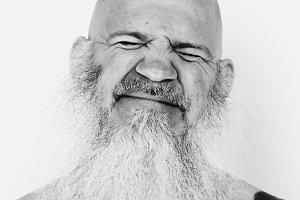 American man portrait (PSD)