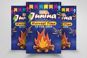 Festa Junina Flyer Templates