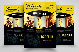 Professional Photography Psd Flyer