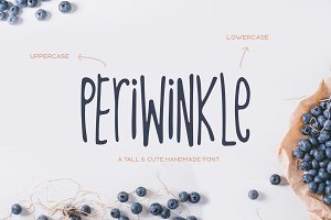 Periwinkle Typeface