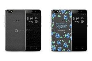 Huawei Honor 4X UV TPU Clear Case
