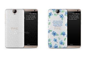 HTC One E9 Plus UV TPU Clear Case