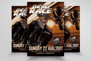 Bike Racing Flyer Template