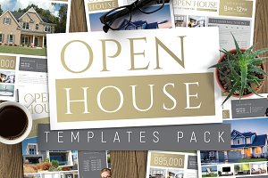 Open House Poster Templates