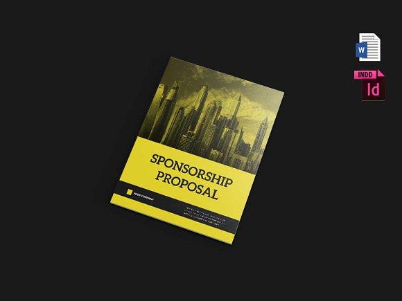 Sponsorship Proposal v1 (MS-Graphicriver中文最全的素材分享平台