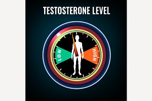 Testosterone deficiency concept