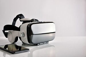 Virtual glasses and phone side