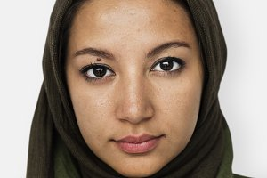 Worldface-Iranian woman (PSD)