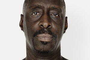 Worldface-African man (PSD)