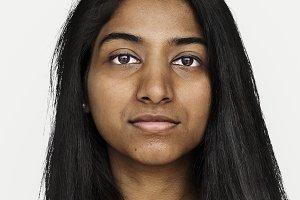 Worldface-Indian girl (PSD)