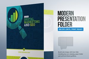 Presentation Folder for SEO Agency