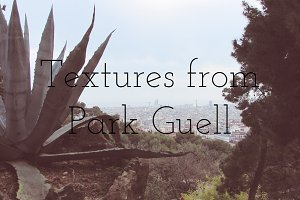 Textures from Park Guell, Barcelona