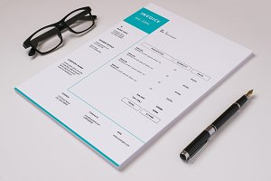 Business Invoice Template V08