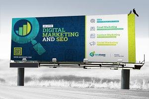 Signage : Billboard, Banner, Store