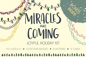 """Miracles are coming"" holiday kit"