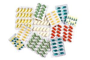 Medicinal pills and capsules