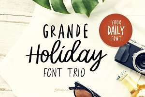 Grande Holiday - Font Trio