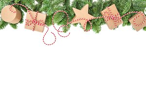 Holidays banner Christmas decoration
