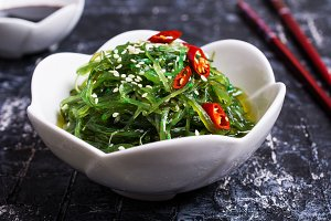 Chukka salad from seaweed