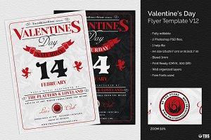Valentines Day Flyer Template V12