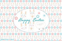 Easter Bunny Papers & Cliparts