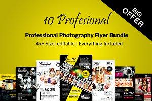 10 Photography Flyer Bundle