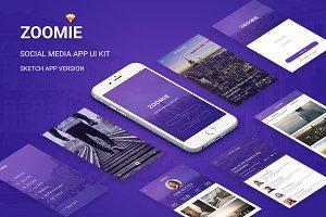 Zoomie - Social Media Sketch App