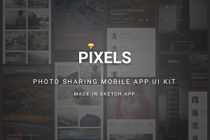 Pixels - Photo Sharing Sketch APP