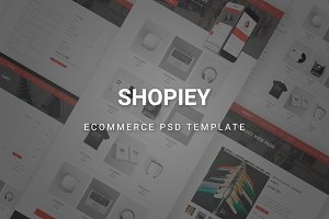 Shopiey - Ecommerce PSD Template