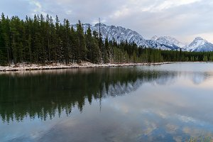 Canadian Rockies Lake