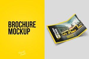 Brochure Leaflet Mockup