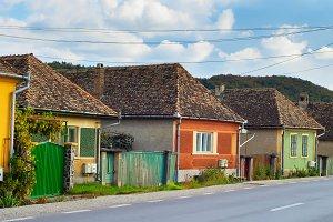 houses of Romanian Transylvanian vil