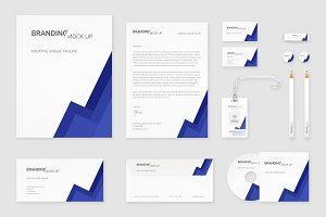 Brand Identity Set: Material Indigo