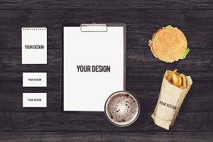 Restaurant Branding Mock-up #5