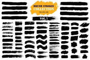 Brush Strokes Collection Vol.7