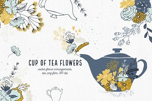 Cup of Tea Flowers