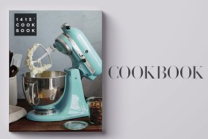 Indesign CookBook Template