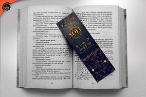 Noel Christmas Gala Bookmark