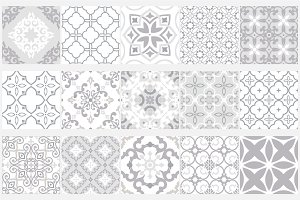 Tile seamless vector patterns