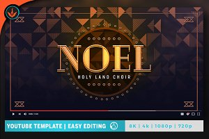 Noel Christmas Gala YouTube Artwork
