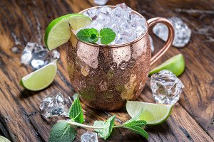 Coctail Moscow Mule.