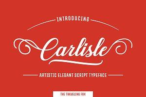 Carlisle - Elegant Script