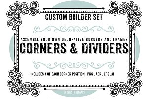 Decorative Borders, Corners & Frames