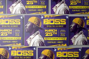 Boss Artist Flyer Template