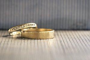 Golden Wedding Bands
